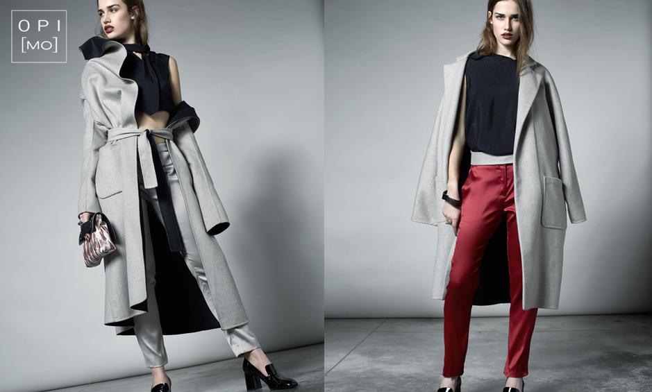 Moda donna inverno cappotto double