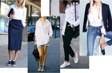 Come abbinare la camicia bianca