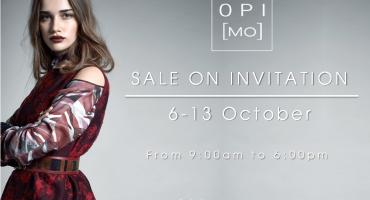 OPI[MO] sale on invitation