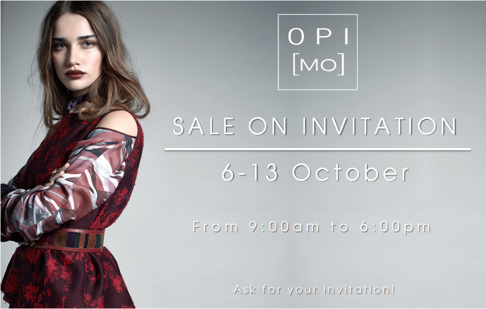 OPI[MO] sale on invitation