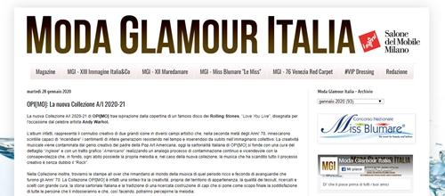 Opimo su Moda Glamour Italia