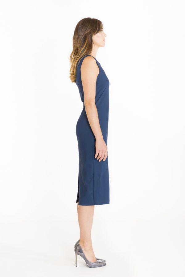 Tubino in sensitive color blu OPI[MO] laterale