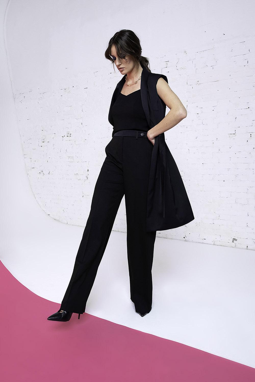 Gilet donna e pantalone cady OPI[MO] fw20-21