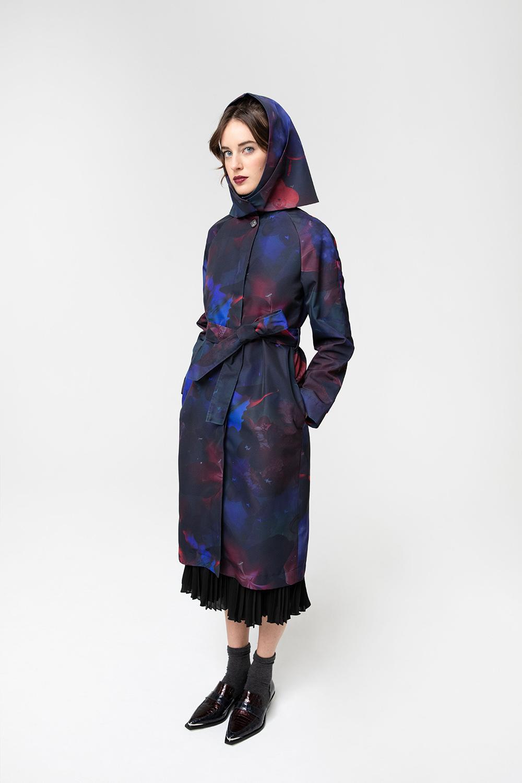 Trench donna impermeabile e foulard OPI[MO] fw20-21
